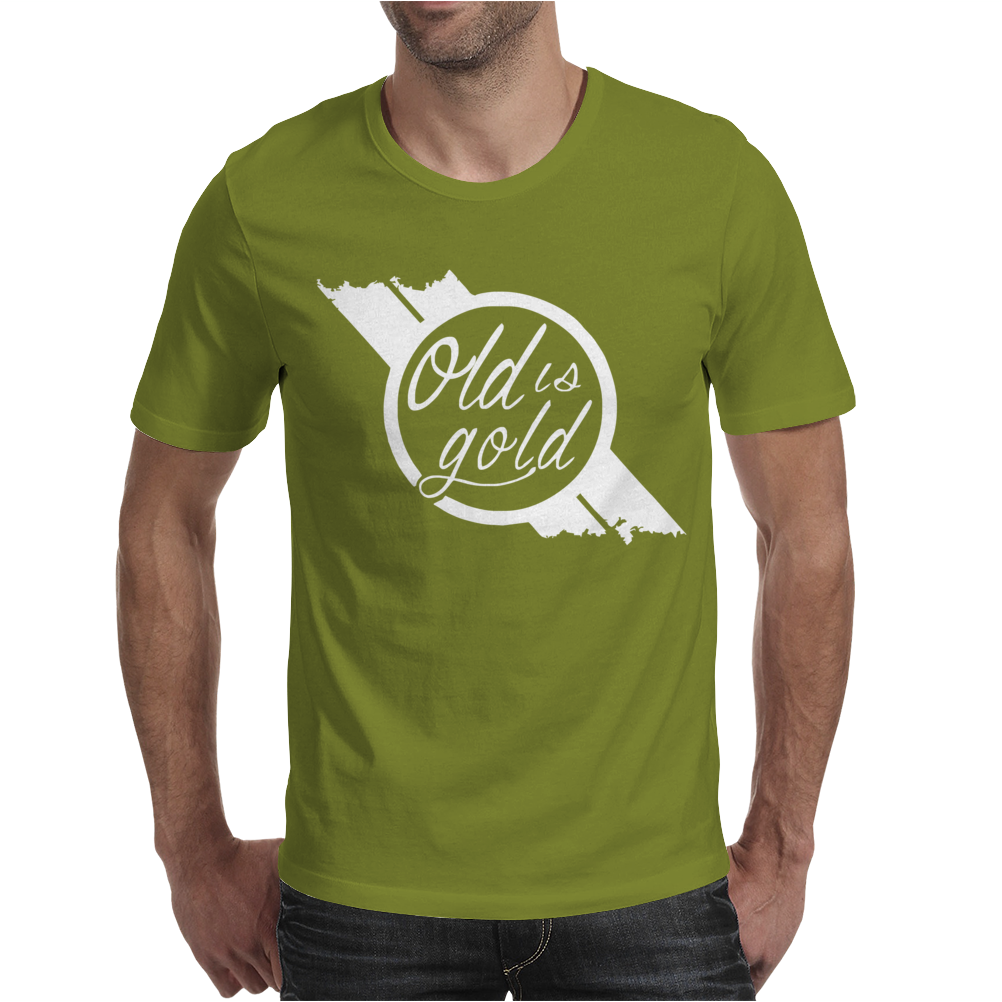 Old is Gold Fast N' Loud Official Discovery Channel Merchandise N Mens T-Shirt