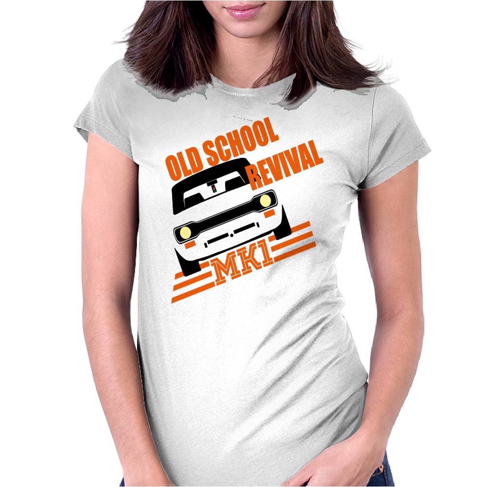 Old School Revival Escort Mk1 RS 1800 2000 Womens Fitted T-Shirt