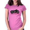 Old School Womens Fitted T-Shirt
