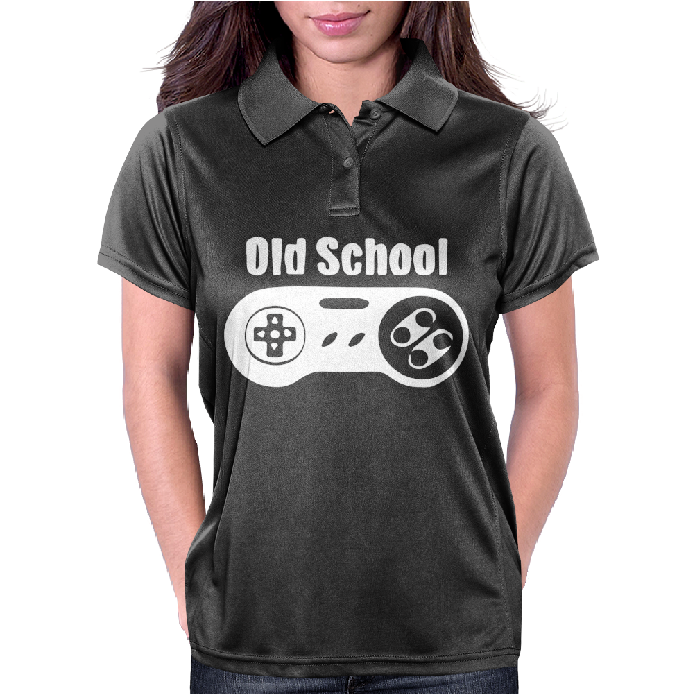 Old School Womens Polo