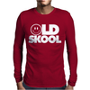 Old Skool Rave DJ Festival Mens Long Sleeve T-Shirt