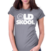 Old Skool Rave DJ Festival Womens Fitted T-Shirt
