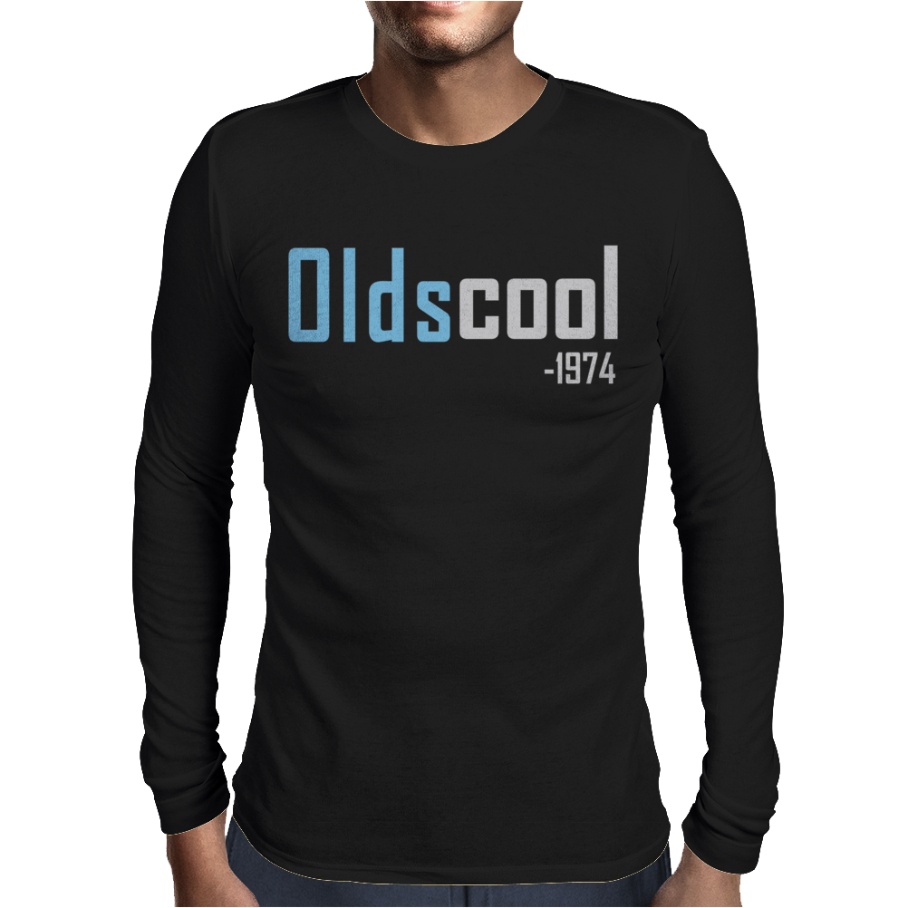 Oldscool 1974 Mens Long Sleeve T-Shirt