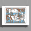 Oldtimer rusted cuba colors Poster Print (Landscape)