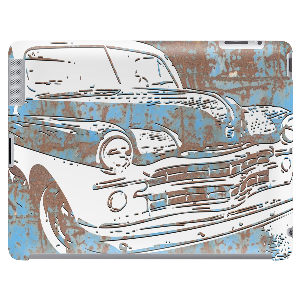 Oldtimer rusted cuba colors Tablet
