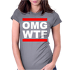 OMG Womens Fitted T-Shirt