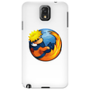 on fire Phone Case