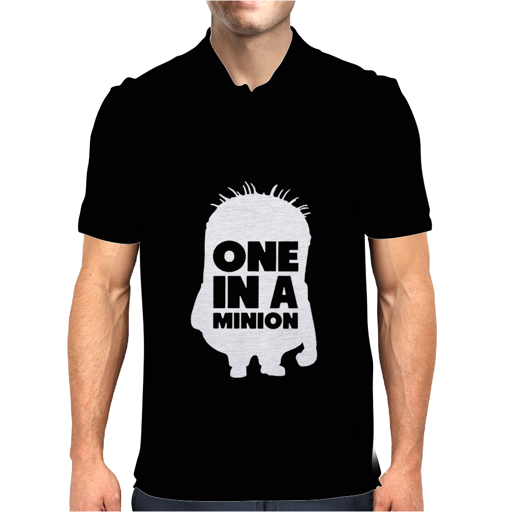 One In A Minion Mens Polo