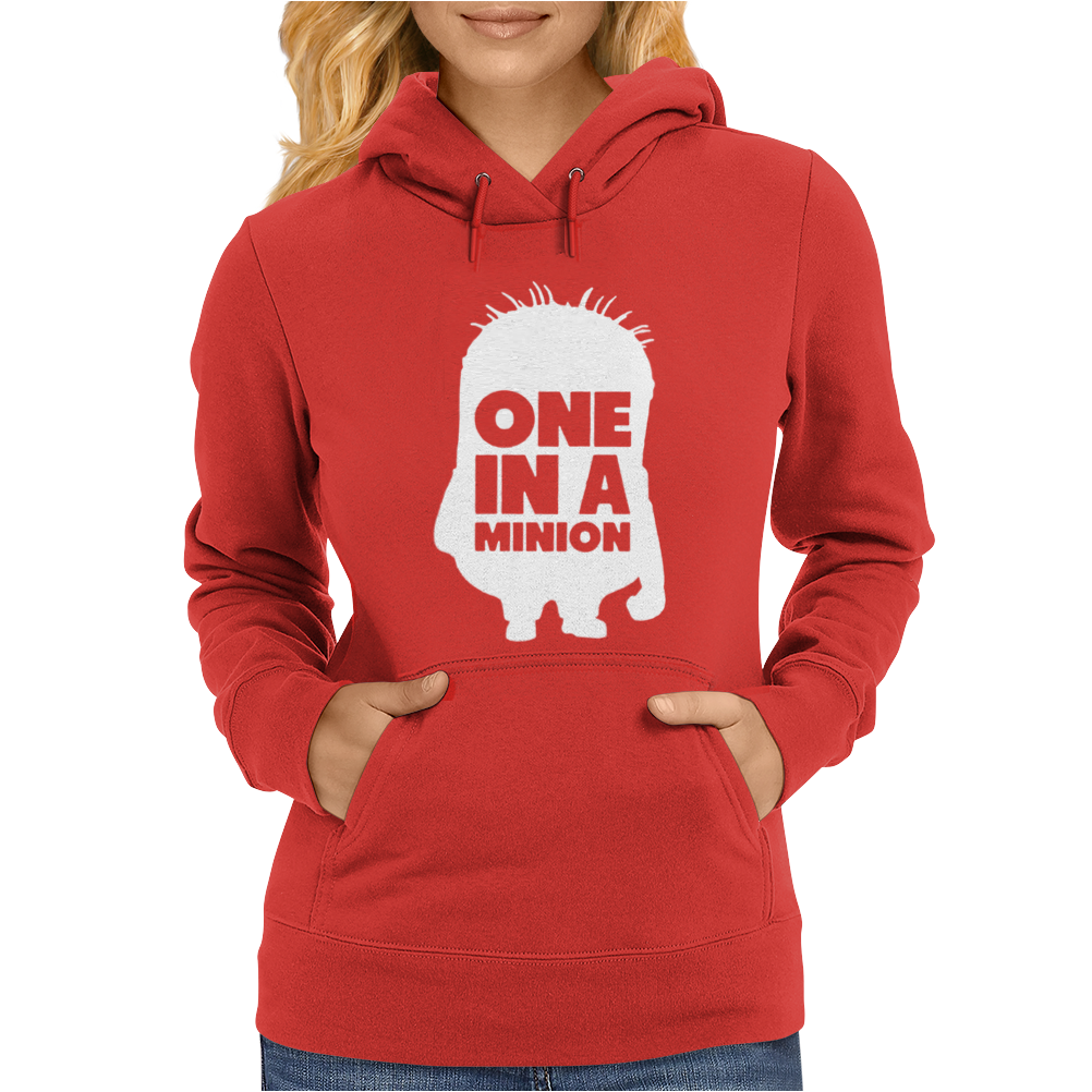 One In A Minion Womens Hoodie