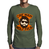 One Man Wolf Pack The Hangover Movie Mens Long Sleeve T-Shirt