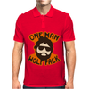 One Man Wolf Pack The Hangover Movie Mens Polo