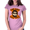 One Man Wolf Pack The Hangover Movie Womens Fitted T-Shirt