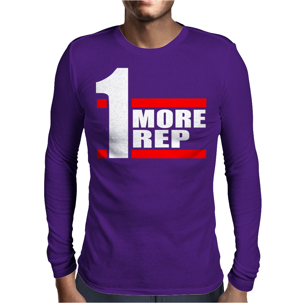 One More Rep Mens Long Sleeve T-Shirt