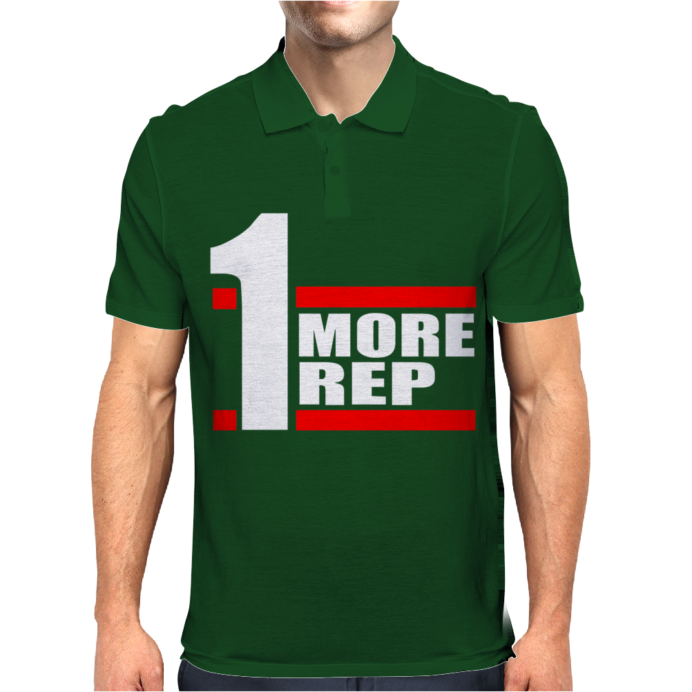 One More Rep Mens Polo