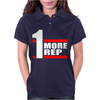 One More Rep Womens Polo
