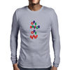 one nation one heart Mens Long Sleeve T-Shirt