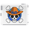 One Piece - Jolly Roger-style logo - Portgas D. Ace Tablet (horizontal)