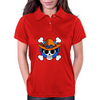 One Piece - Jolly Roger-style logo - Portgas D. Ace Womens Polo