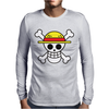 One Piece Skull Mens Long Sleeve T-Shirt