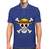 One Piece Skull Mens Polo