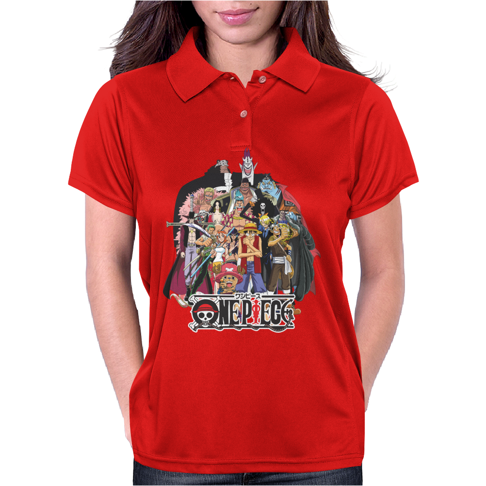 ONE PIECE : THE BEST PIRATES Womens Polo