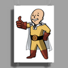 One punch boy - fallout parody Poster Print (Portrait)
