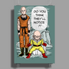 One Punch Kuririn Poster Print (Portrait)