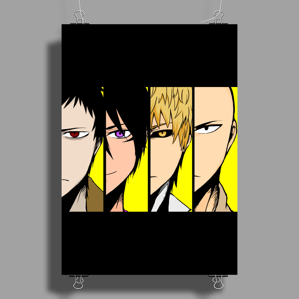 One punch man Poster Print (Portrait)