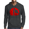One punch man - Red moon Mens Hoodie