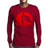 One punch man - Red moon Mens Long Sleeve T-Shirt