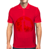 One punch man - Red moon Mens Polo