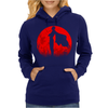 One punch man - Red moon Womens Hoodie