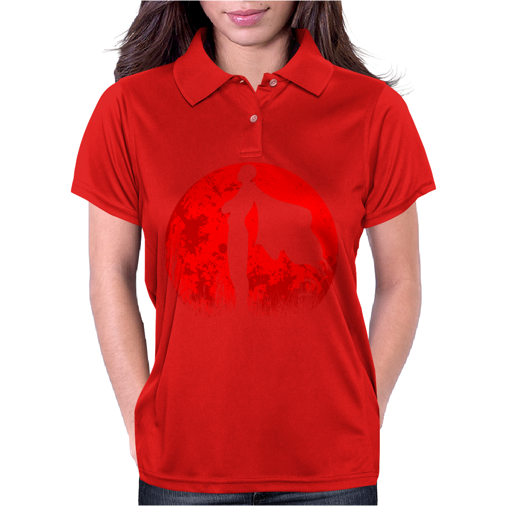 One punch man - Red moon Womens Polo