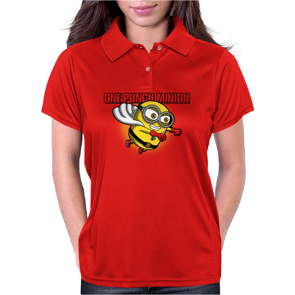 One Punch Minion Womens Polo