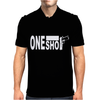 One shot  9mm Fight Mens Polo