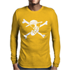 Onepiece Flag Luffy Mens Long Sleeve T-Shirt