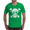 Onepiece  Straw Hat Crew Flag Luffy Pirates anime Mens T-Shirt