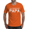 Only Best Dads Get Promoted To Papa Mens T-Shirt