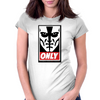 Only Face Womens Fitted T-Shirt