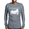 Only Smarties have the Answer' - Funny Mens Long Sleeve T-Shirt
