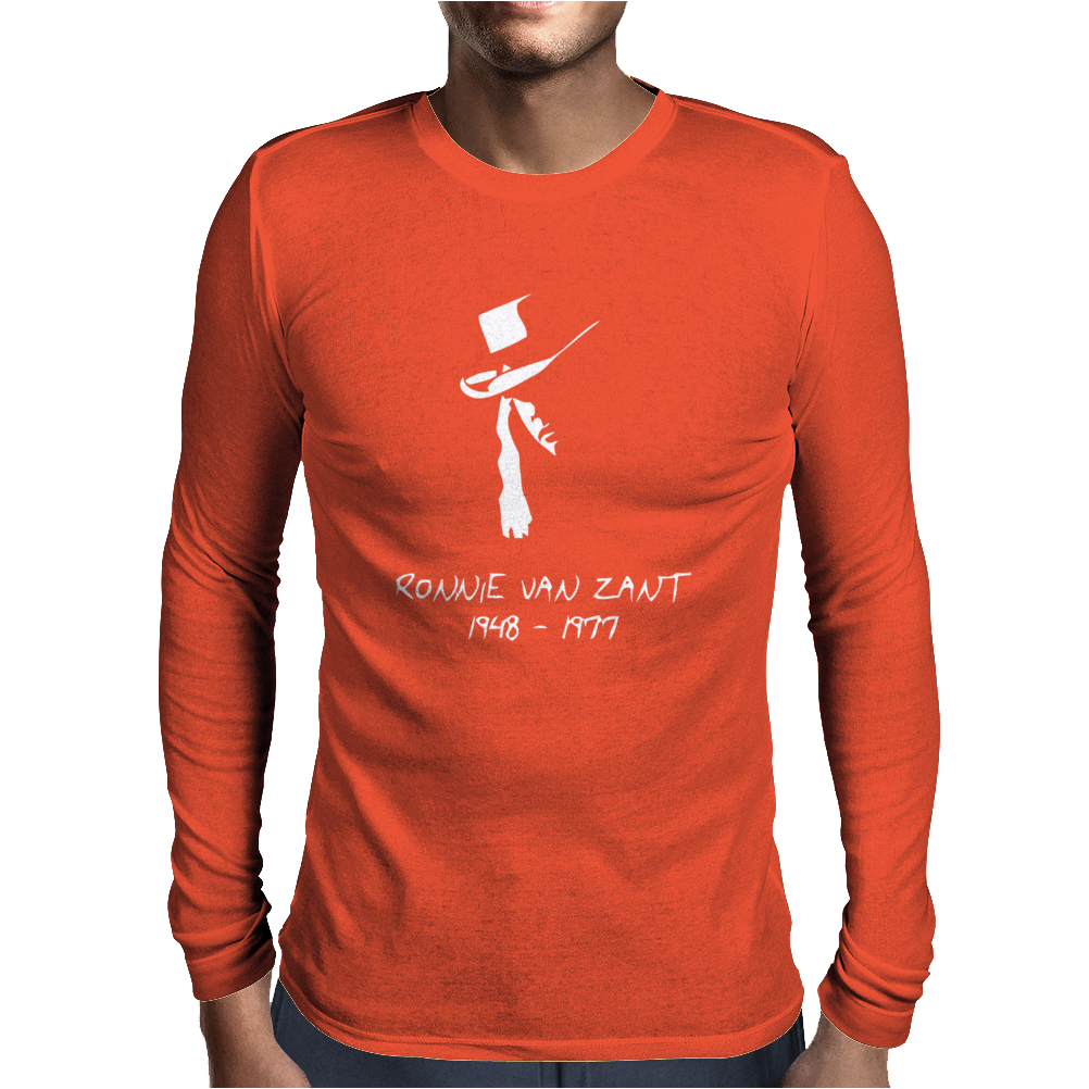 Onnie Van Zant Mens Long Sleeve T-Shirt