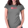 ooh la la (lips) Womens Fitted T-Shirt