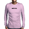 ooh la la logo Black Mens Long Sleeve T-Shirt
