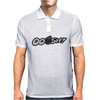 Ooosh Mens Funny Turbo Car Mens Polo
