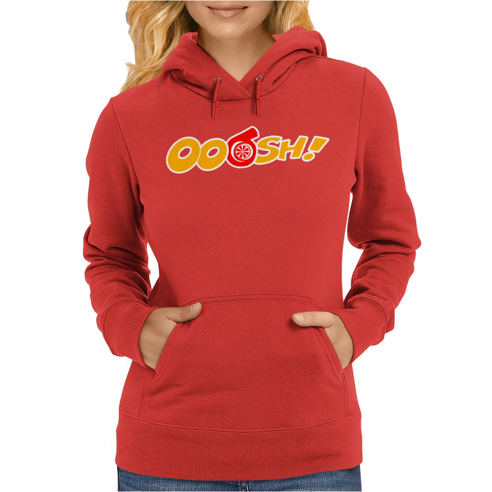 Ooosh Turbo Car Womens Hoodie