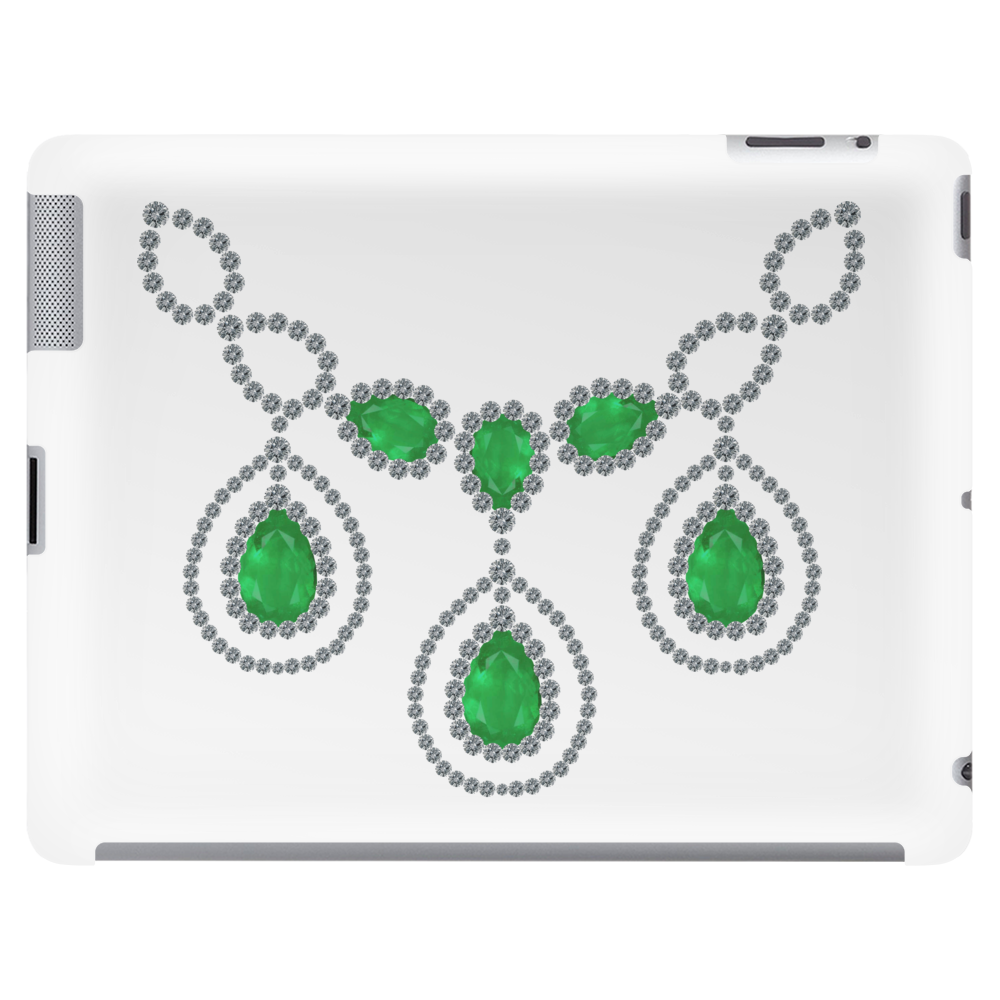 Open Emerald Necklace Tablet