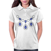 Open Sapphire Necklace Womens Polo