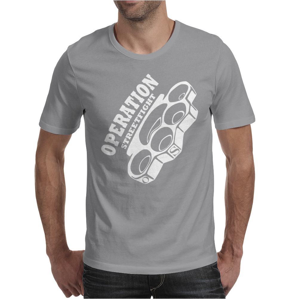 operation streetfight  Hools Hooligan Boxen Fight Mens T-Shirt