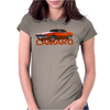 Orange Camaro Muscle Car 67 68 69 Classic Womens Fitted T-Shirt
