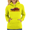 Orange Camaro Muscle Car 67 68 69 Classic Womens Hoodie